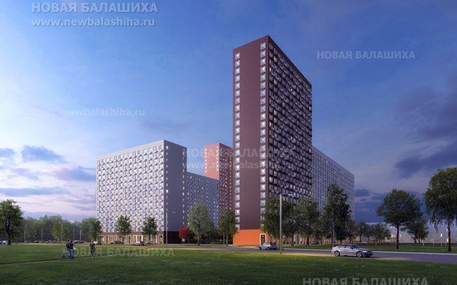 Фото проект жилого комплекса «Озёрный» вБалашихе - Новая Балашиха