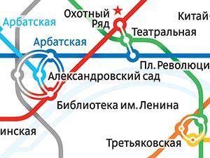 Схема Московского метро - Новая Балашиха